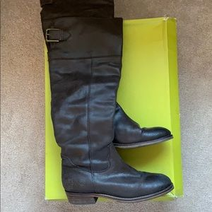 BP Boots - Brown Distressed Leather - Sz 8